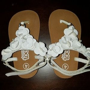 Baby sandals size 4